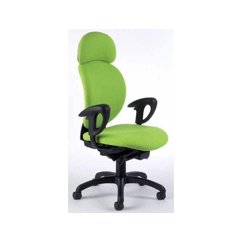 fauteuil de bureau haut dossier az o 2050. Black Bedroom Furniture Sets. Home Design Ideas
