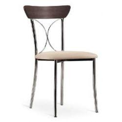 Chaise de cuisine edi laqu blanc for Chaises de cuisine en bois