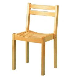 201 chaise a lames
