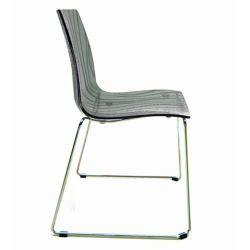 Chaise design caLima Luge fumé