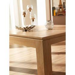 Table Mercier Baobab  dessus bois de fil