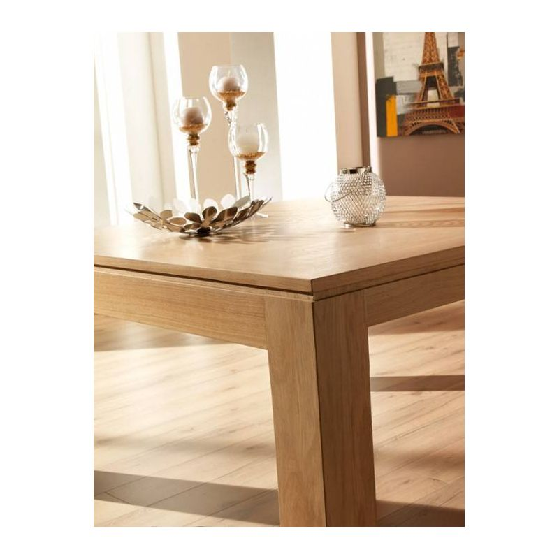 table mercier ch ne massif baobab rectangulaire dessus bois de fil alais. Black Bedroom Furniture Sets. Home Design Ideas