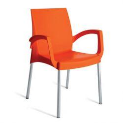 Fauteuil boulevard orange