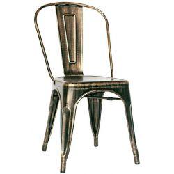 chaise vintage steel tolix - Chaise Vintage