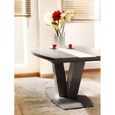 Table Mercier Oxalide socle métal dessus ceramique PRIX LIVRE.