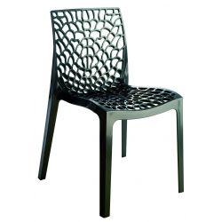 LOT DE 4 chaises gruvyer anthracite. transport compris.