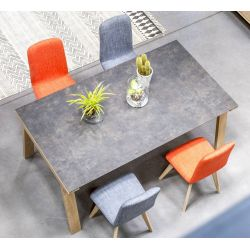 TABLE RECTANGULAIRE FULL CERAMIQUE BON MARCHE