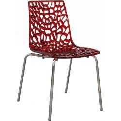 Chaise 4 pieds design Lumi groove