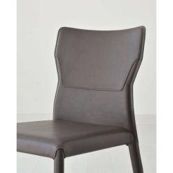 Chaise sarah véritable cuir c