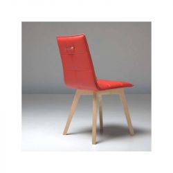 Chaise Iris wood NATISA