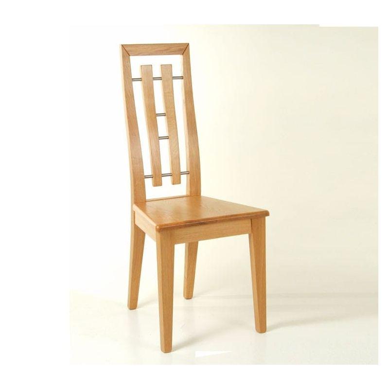 Chaise loisy monnot celia - Chaise contemporaine bois ...