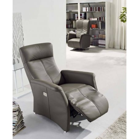 Odyssee fauteuil relax cuir pvc C36