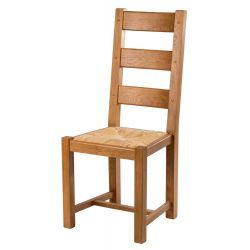 Chaise chêne 7100 paille lelièvre L8