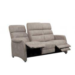 Canapé fixe ou relax SOFT 3 pl  C36