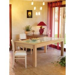 Table Mercier Curcuma ceram