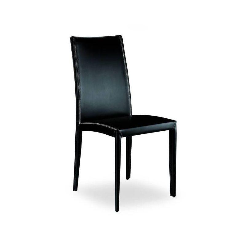 chaise aisha airnova design cuir v ritable. Black Bedroom Furniture Sets. Home Design Ideas