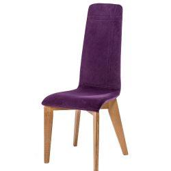 Chaise IZO pieds bois rectangle L8