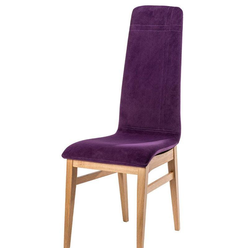 Chaise design IZO pieds bois carré