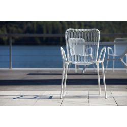 Chaise de jardin Lucky blanche Talenti T1