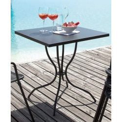 Table de jardin Candle graphite talenti