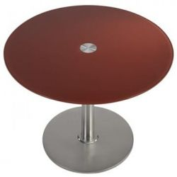 Table design inox Cerise