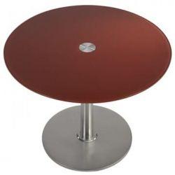 Table design  inox Cerise