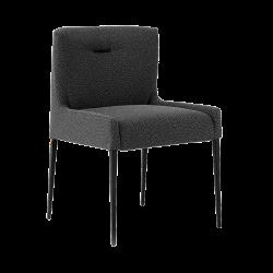 Chaise avec pieds en métal...