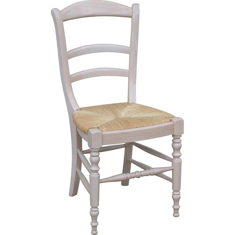 Chaise paille n85 for Chaise cuisine bois paille
