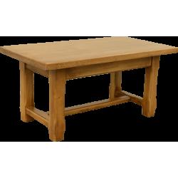 Table basse rustique chêne massif
