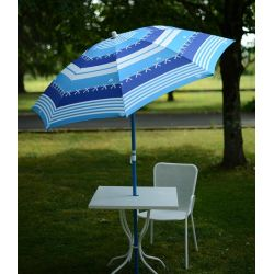 Parasol condor bleu