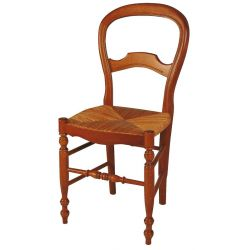 Chaise Louis Philippe ronde...