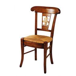 Chaise fleur de lys...