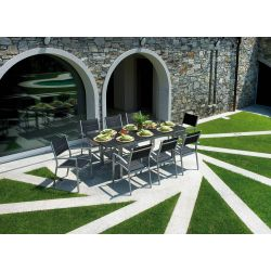 Table de jardin Ravello extensible moia