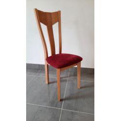 Chaise Lisa bois assise...