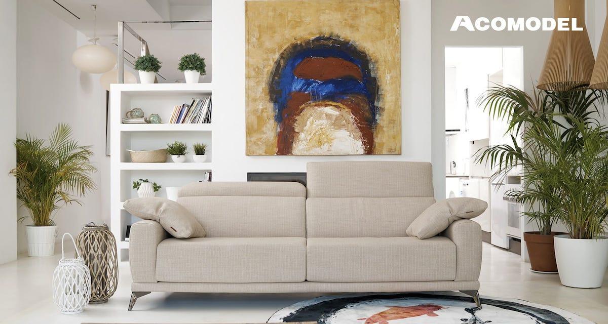 Mobilier design contemporain Acomodel canapé design