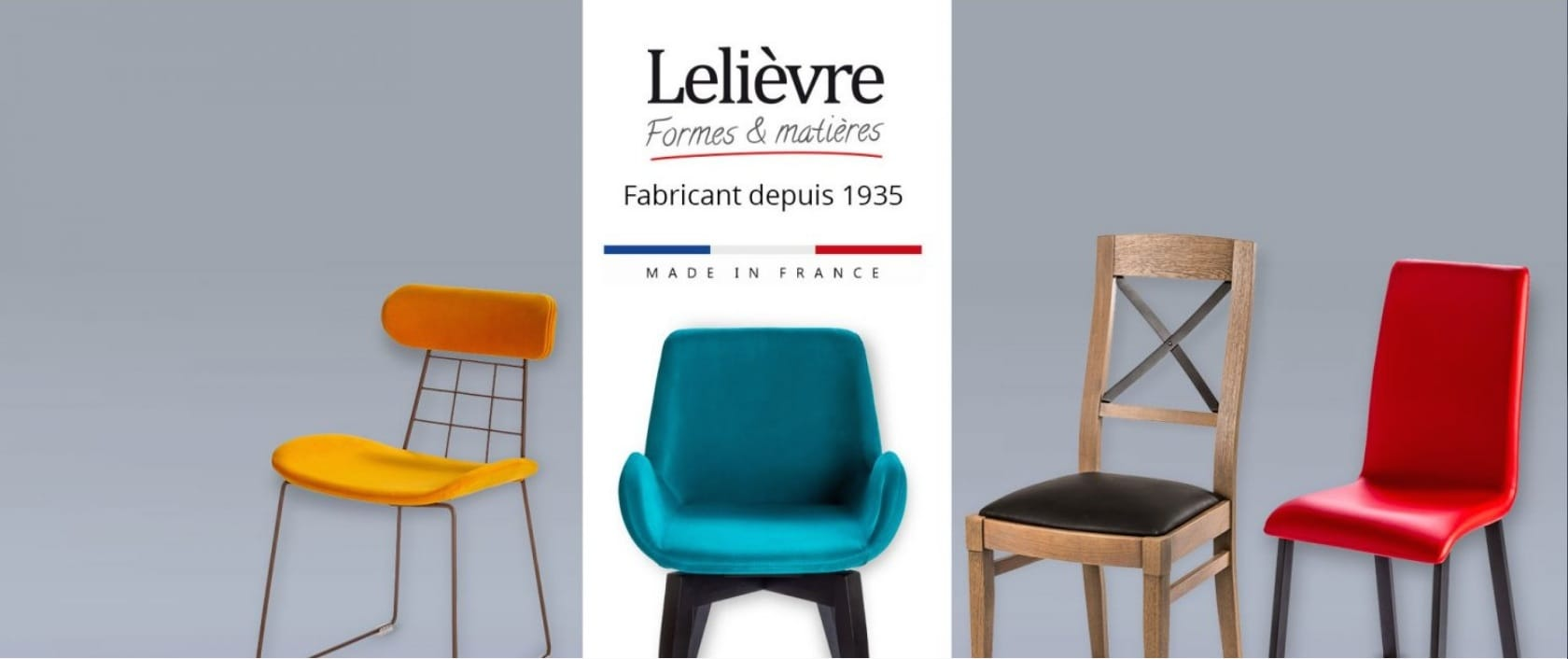 Mobilier design contemporain et chaise design Lelièvre
