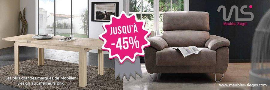 Soldes hiver meubles sièges mobilier design aux meilleurs prix