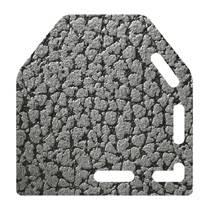 micro boa gris foncé