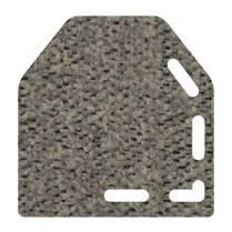 micro chiné gris clair