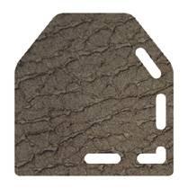 micro peau brun taupé