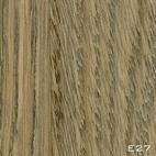 E27 chêne fumé mat vernis